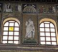Ravenna, sant'apollinare nuovo, int., santi e profeti, epoca di teodorico 05.JPG
