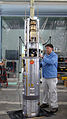 Readying Aurora sounding rocket payload 2.jpg