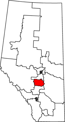 Red-Deer–Lacombe 2013 Riding.png