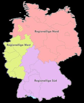 Regionalliga - Image: Regionalliga 2008 2012