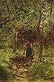 Reisigsammlerin im Sommerwald by Gustav Kispert.jpg