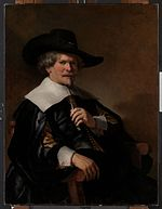 Rembrandt - Portrait of a man in an armchair.jpg
