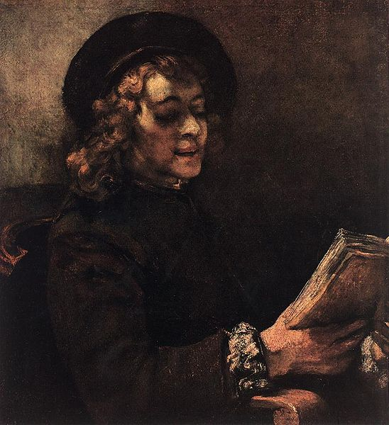 File:Rembrandt - Titus Reading - WGA19169.jpg