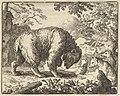 Renard Promises the Bear to Take Him to a Place Where He Will Find Honey from Hendrick van Alcmar's Renard The Fox MET DP837694.jpg