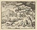 Renard Receives a New Citation from the Badger from Hendrick van Alcmar's Renard The Fox MET DP837704.jpg