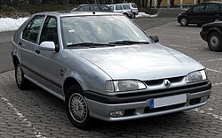 Renault 19 frontal