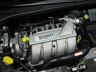 Renault F-Type engine - Image: Renault Sport 2.0L Engine
