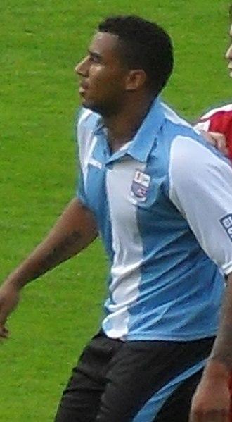 Rene Howe - Howe playing for Rushden & Diamonds in 2010