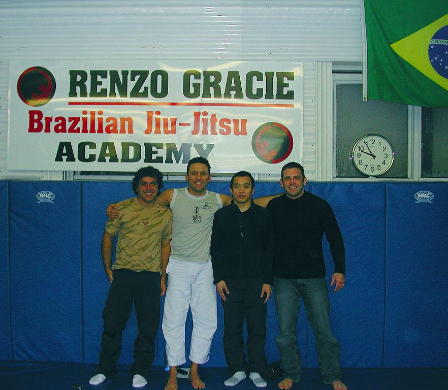 Когато бях охрана: Renzo Gracie