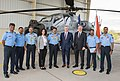 Representatives of Indian Air Force for accepting the first AH-64E (I) Apache Guardian helicopter from Boeing and US government - 1.jpg