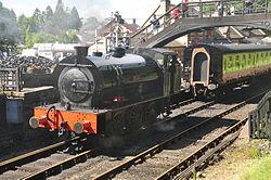 Repulse at Haverthwaite railway station (6586).jpg
