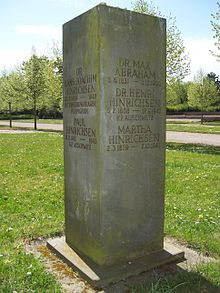 Memorial for Dr. Henri Hinrichsen and family at the Südfriedhof in Leipzig (Source: Wikimedia)