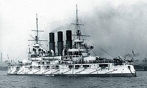 Russian battleship Retvizan - Image: Retvizan 1902Delaware River