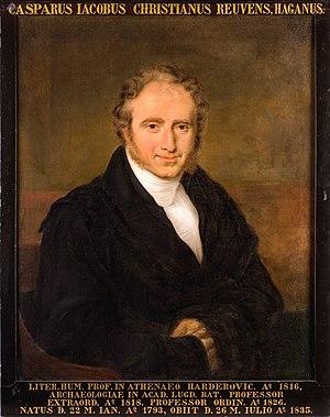 Caspar Reuvens - Professor Caspar J.C. Reuvens