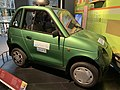 Reva car, Edinburgh, 2006, hydrogen powered transport pic2.JPG