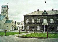 Το κτίριο του Αλθίνγκι, Ρέυκιαβικ