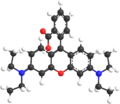 Rhodamine B 3d model.png