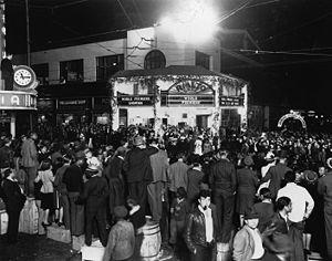 Rialto Center for the Arts - Movie Premiere at the Rialto - 1940