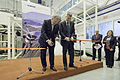 Ribbon Cutting Ceremony at SuperJet International Training Center in Zhukovsky (6516109473).jpg