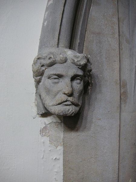 File:Richmond St Matthias interior 005 detail of stone boss.jpg