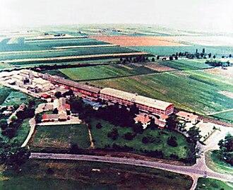 Rimski Šančevi - Panoramic view of Rimski Šančevi