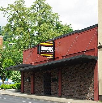 RingSide Steakhouse - Exterior of the West Burnside location