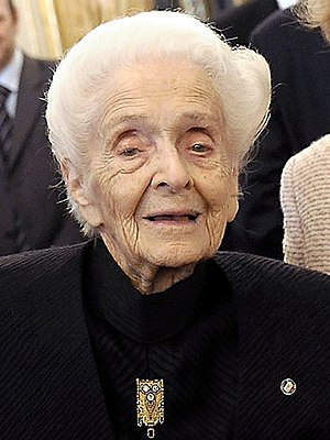 Albert Lasker Award for Basic Medical Research - Rita Levi-Montalcini