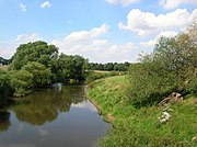 River Swale from bridge near Brafferton