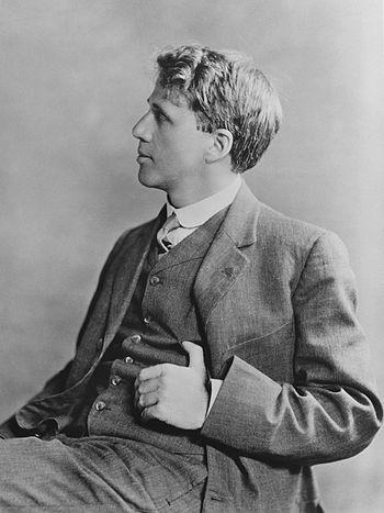Robert Frost, 1913.