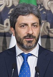 Roberto fico wikipedia for Presidente camera dei deputati attuale