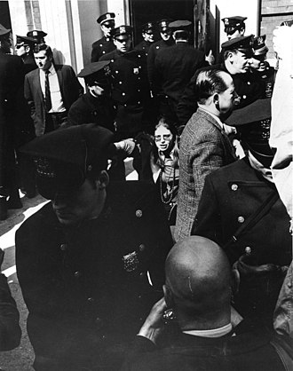 Robin Morgan - Morgan being arrested at Grove Press, 1970