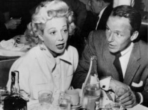 Robin Raymond - Robin Raymond and Frank Sinatra in 1955