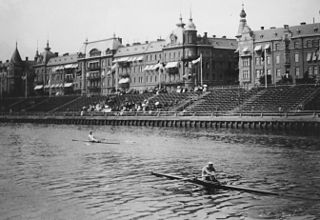Rowing at the 1912 Summer Olympics – Mens single sculls Olympic rowing event