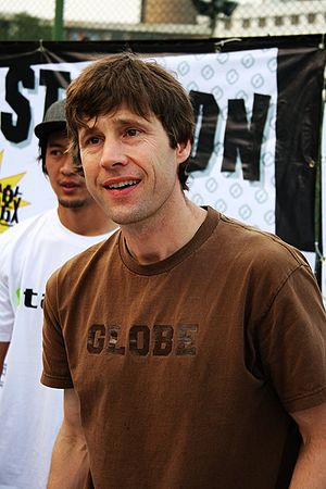 Heelflip - Rodney Mullen - creator of the maneuver.