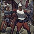 Roger de La Fresnaye, 1911, Cuirassier, oil on canvas, 175.9 x 179 cm, Musée des Beaux-Arts, Lyon.jpg