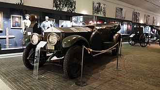 Military Museum's Manege - Rolls Royce Silver Ghost.