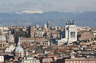 Rom, Blick vom Gianicolo-Hügel zur Innenstadt, Bild 1