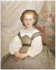 Portrait de Romaine Lacaux