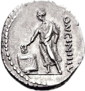 Election - Roman coin depicting election
