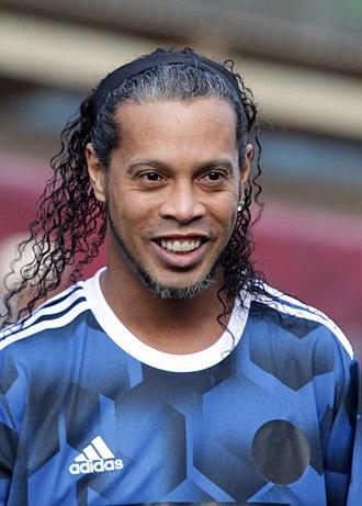 Ronaldinho - Ronaldinho in 2017