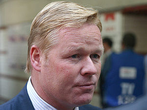 Ronald Koeman - Ronald Koeman at Everton