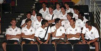 Santarcangelo Calcio -  Players of ASD Santarcangelo during the official presentation of the 2009/10 season