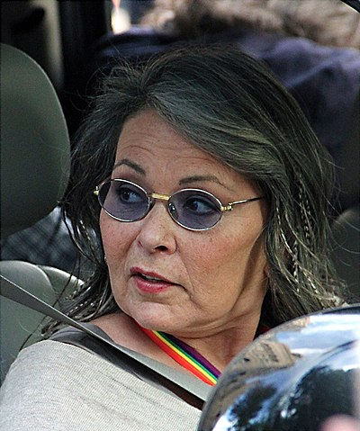 Roseanne Barr, American actress, comedienne, writer, producer and director