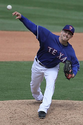 Ross Wolf - Wolf with the Texas Rangers in 2013