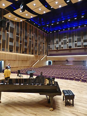 Royal Birmingham Conservatoire - The main concert hall