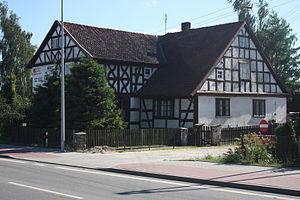 Różyny - Mennonite house in Różyny