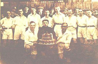 Ruch Chorzów - Ruch Wielkie Hajduki, Silesian Vice-Champions in 1924