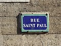 Rue Saint Paul, Paris, October 2019 (01).jpg