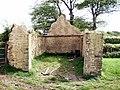 Ruin at crossroads - geograph.org.uk - 426532.jpg