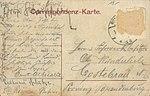 Rumburg, Ostpreußen - Jagdschloss (back) (Zeno Ansichtskarten).jpg